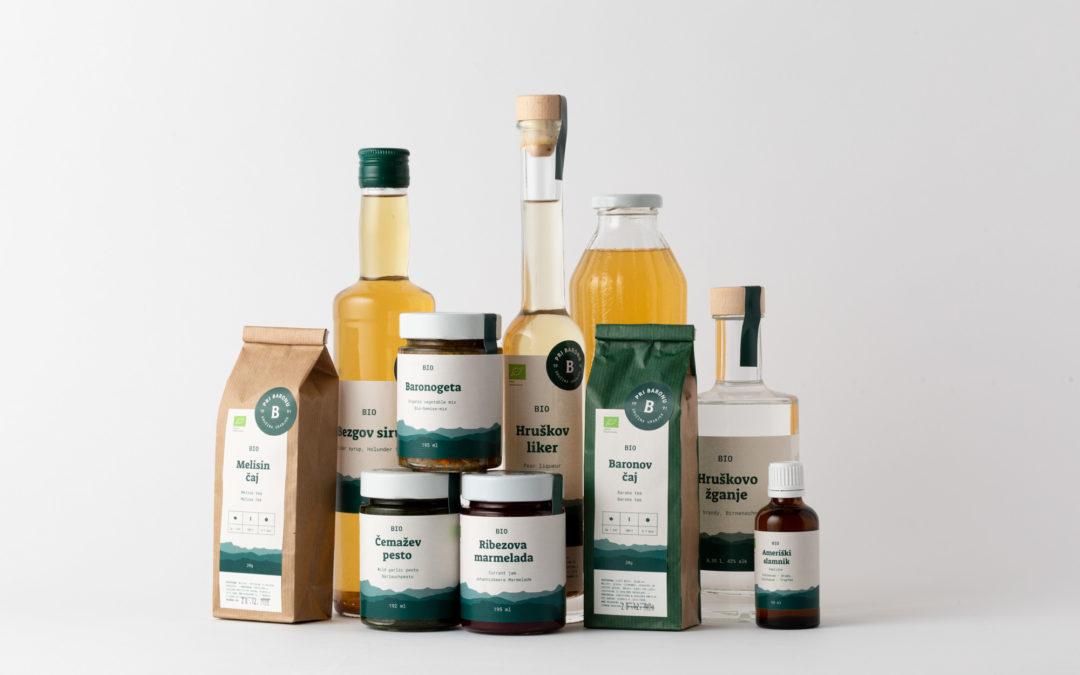 Velika izbira eko izdelkov